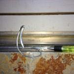 Sliding Door Track Removal